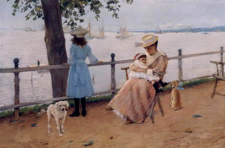 William Merritt Chase - Afternoon by the Sea