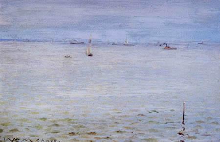 William Merritt Chase - Seeansicht