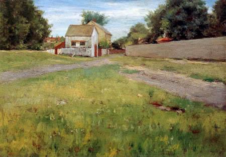 William Merritt Chase - Landschaft bei Brooklyn