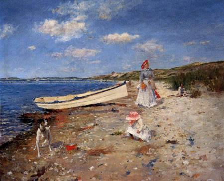 William Merritt Chase - Un día asoleado,  Shinecock Bay