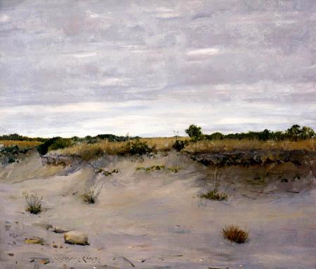 William Merritt Chase - En la playa de Shinnecock, Long Island