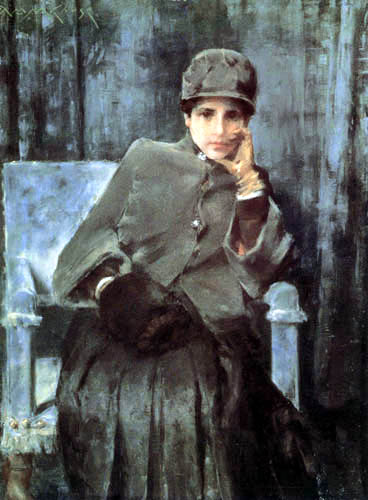 William Merritt Chase - Meditation