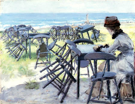 William Merritt Chase - The end of the Season