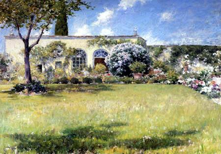 William Merritt Chase - The Orangerie