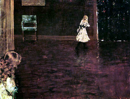 William Merritt Chase - Blindman´s Buff