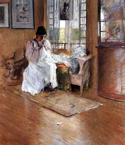 William Merritt Chase - Para el Bebé