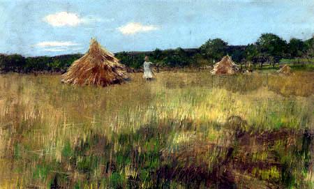 William Merritt Chase - Grain Field, Shinnecock Hills