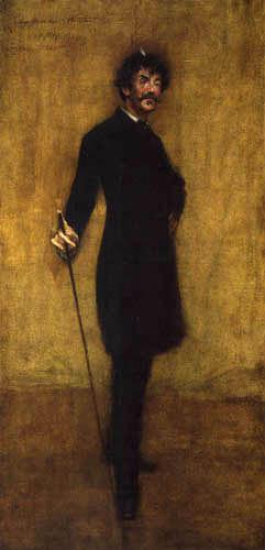 William Merritt Chase - James Abbot McNeill Whistler