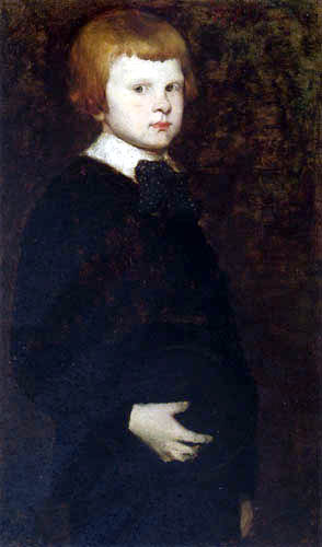 William Merritt Chase - Portrait of a Young Boy