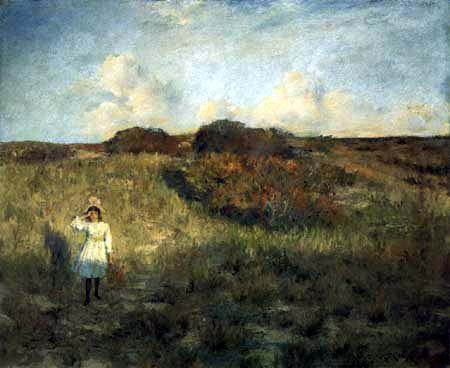William Merritt Chase - Coucher de soleil sur la baie de Shinnecock