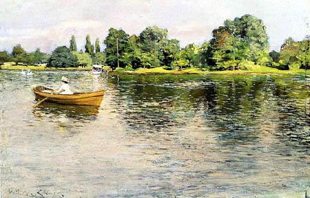 William Merritt Chase - Summertime