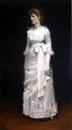 William Merritt Chase - Portrait of Miss Jessup