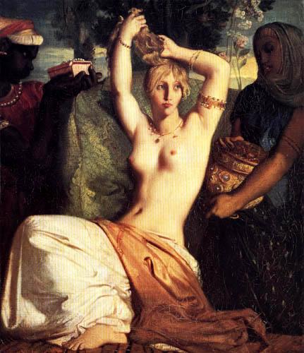 Théodore Chassériau - Toilette der Esther