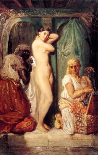 Théodore Chassériau - Bath in the Seraglio