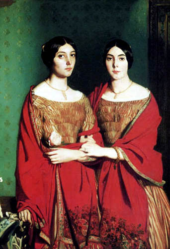 Théodore Chassériau - The two sisters