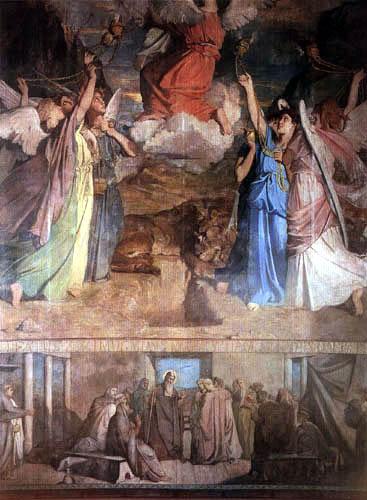 Théodore Chassériau - Das Leben der hl. Maria als Ägypterin