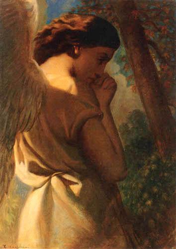 Théodore Chassériau - Ein Engel