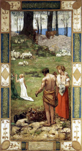 Pierre Puvis de Chavannes - Prayer