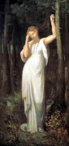 Pierre Puvis de Chavannes - Reflection