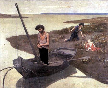Pierre Puvis de Chavannes - Der arme Fischer