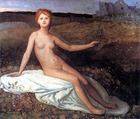 Pierre Puvis de Chavannes - Die Hoffnung