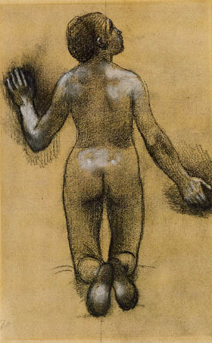 Pierre Puvis de Chavannes - Nude, Back View