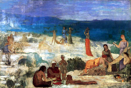 Pierre Puvis de Chavannes - Massilia, a Greek Colony