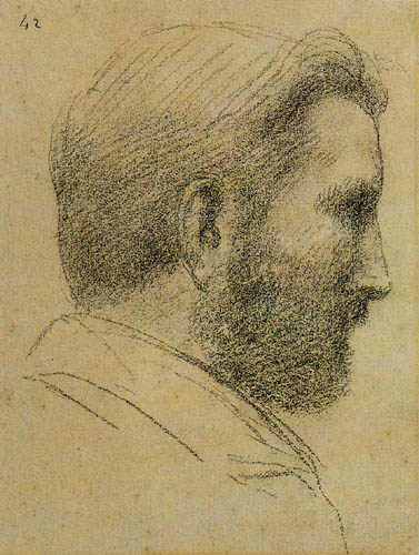Pierre Puvis de Chavannes - Portrait of Séon