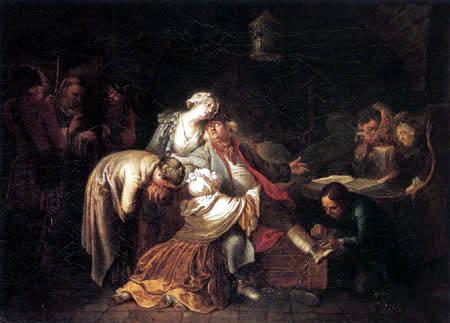 Daniel Nikolaus Chodowiecki - The Departure