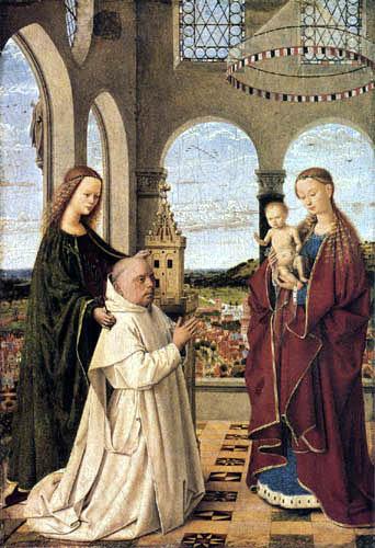Petrus Christus - Maria with child