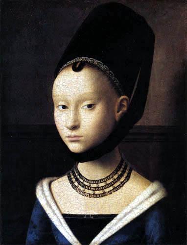 Petrus Christus - Young Woman