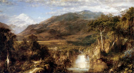 Frederick Edwin Church - The heart of the Andes