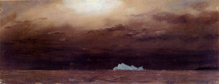 Frederick Edwin Church - Iceberg in Newfoundland