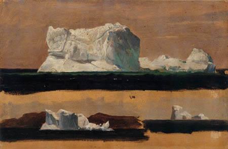 Frederick Edwin Church - Icebergs near Newfoundland