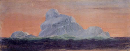 Frederick Edwin Church - Iceberg in the evening sun
