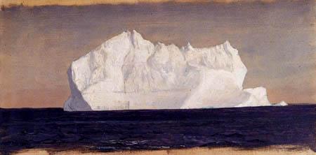 Frederick Edwin Church - Schwimmender Eisberg