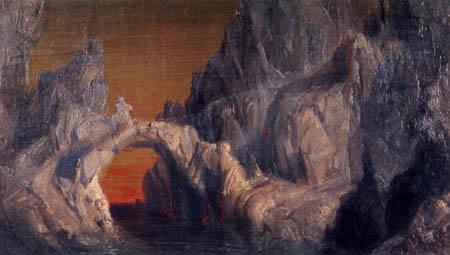 Frederick Edwin Church - Study for an iceberg