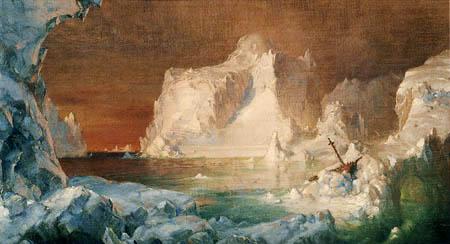 Frederick Edwin Church - Studie für die Eisberge