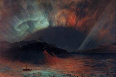 Frederick Edwin Church - Aurora Borealis