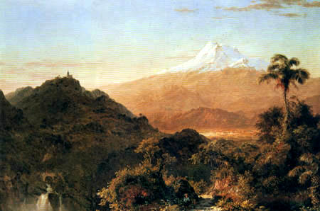 Frederick Edwin Church - A South American Landscape