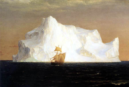 Frederick Edwin Church - The Iceberg