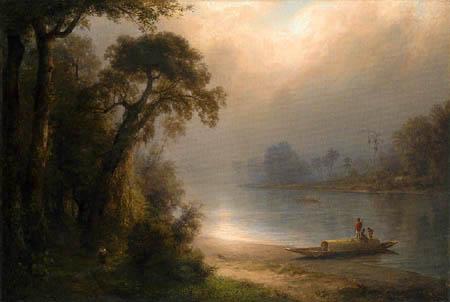 Frederick Edwin Church - Evening in the Tropics