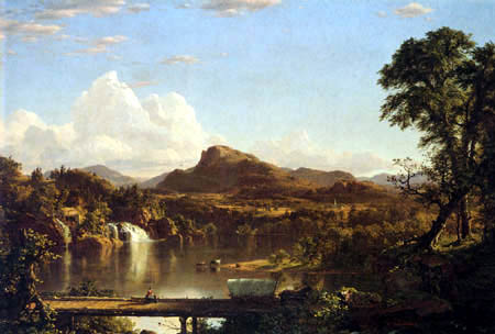 Frederick Edwin Church - New England Scenery