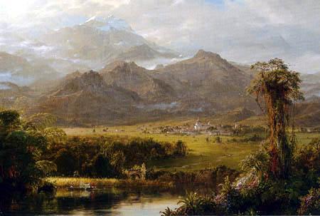 Frederick Edwin Church - Mountains of Ecuador