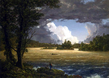 Frederick Edwin Church - Rapids of the Susquehanna