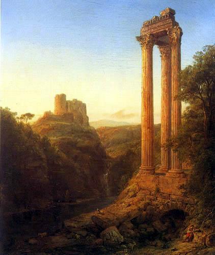 Frederick Edwin Church - Sonnenaufgang in Syrien