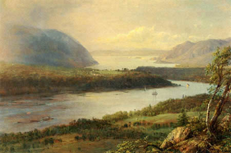 Frederick Edwin Church - The Highlands of the Hudson River