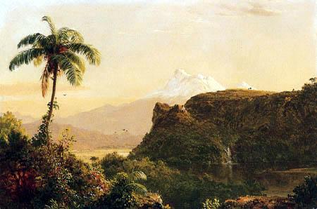 Frederick Edwin Church - Tropical Landscape