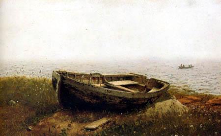 Frederick Edwin Church - The Abandoned Ship