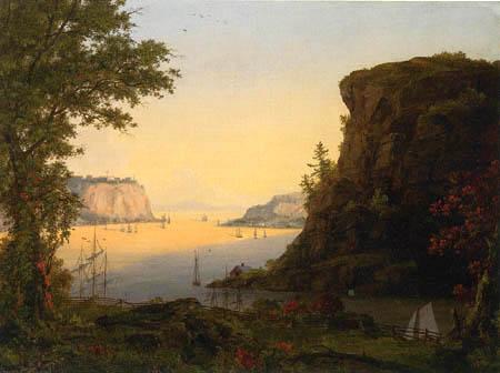 Frederick Edwin Church - Blick auf Quebec